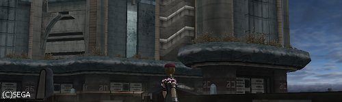 廃墟と化したローゼノム・シティ