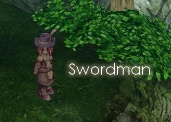 剣士を作りました